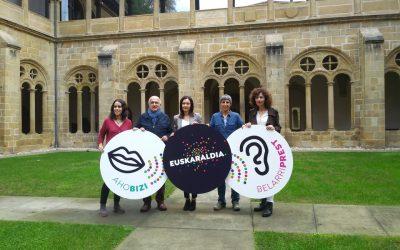Euskal Herriko lurralde guztietako belarriprest eta ahobiziek eman dute izena Euskaraldian